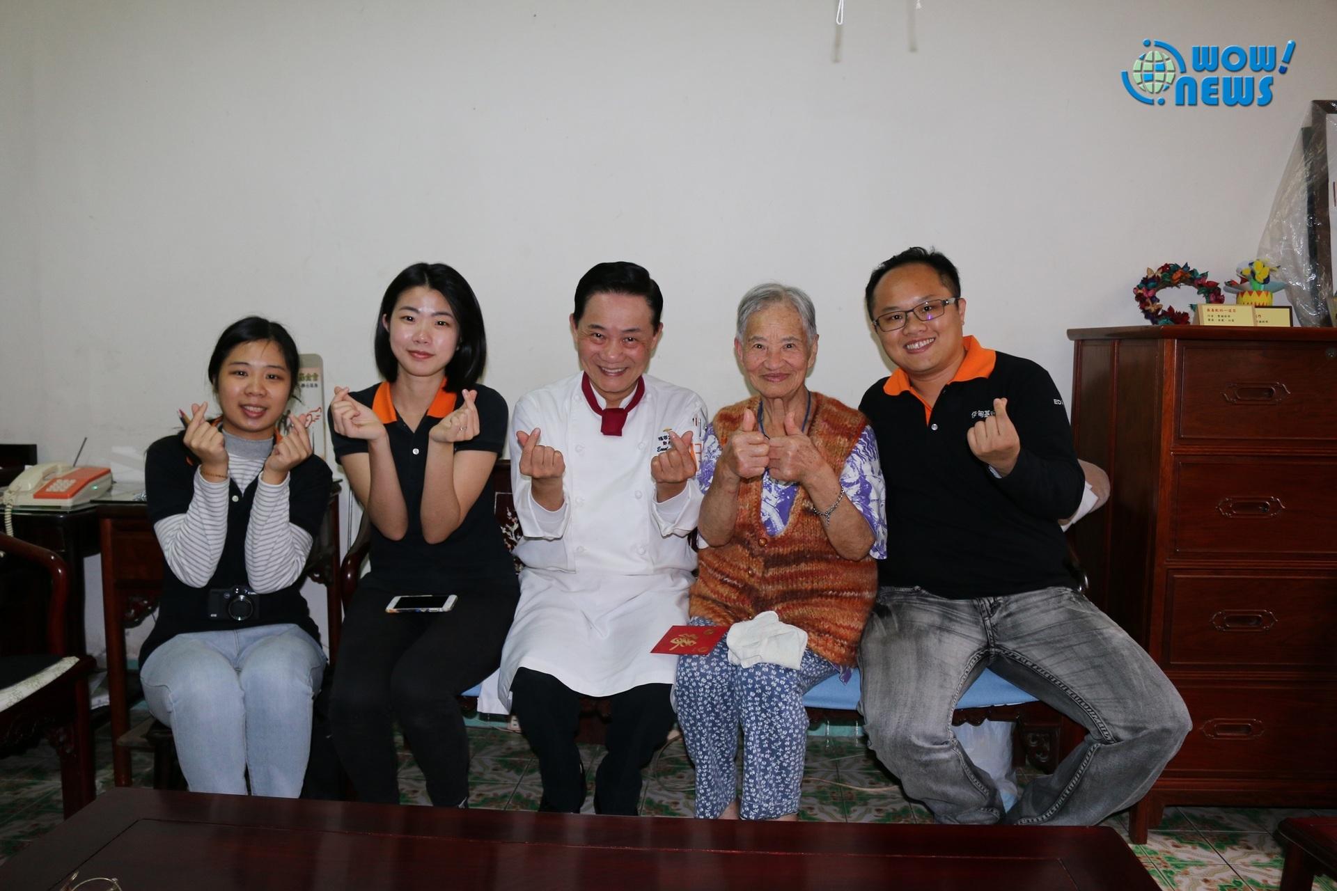 主廚阿基師到宅伴獨老 為奶奶打造五星級圍爐宴