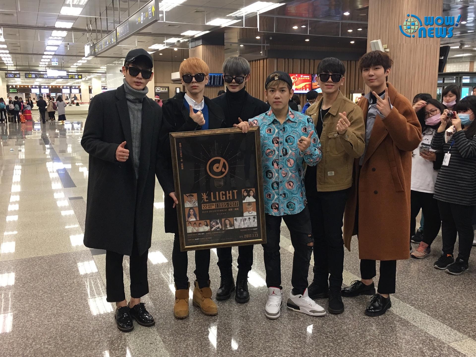 「超新韓團」INX4度訪台盼在台巡演會各地粉絲